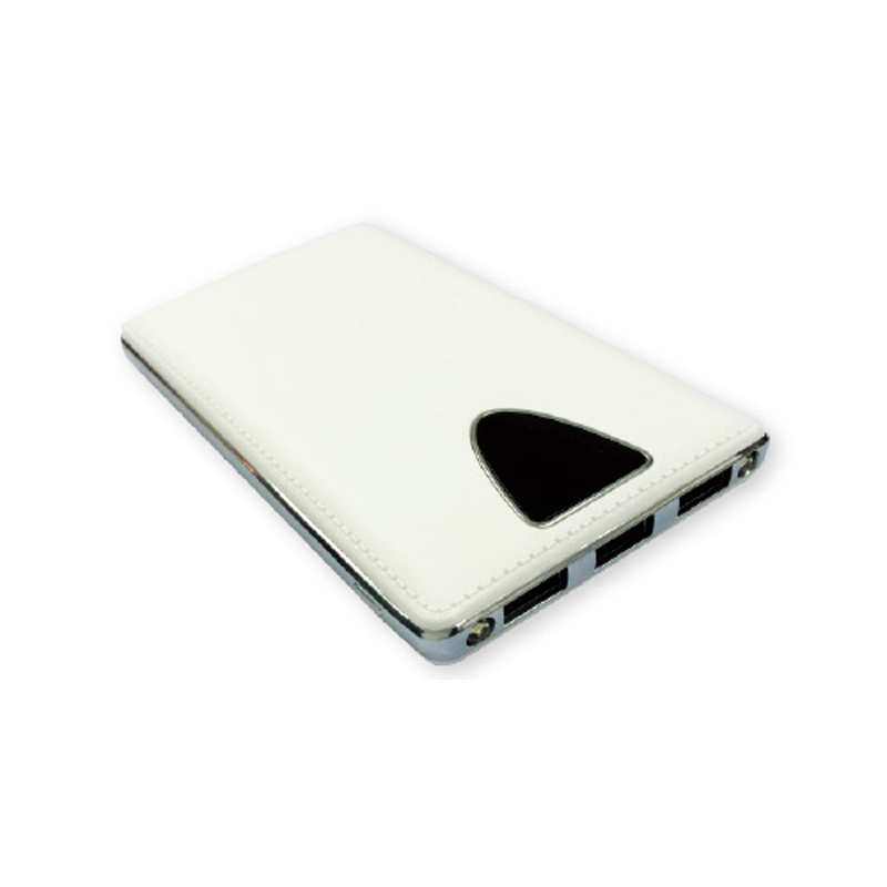 Power Bank 8000-mAh White Color