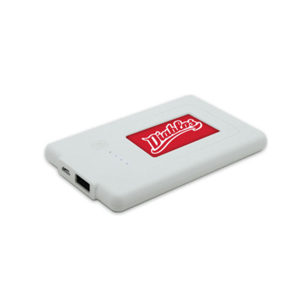 Power Banks Plus Battery Charger - White Color