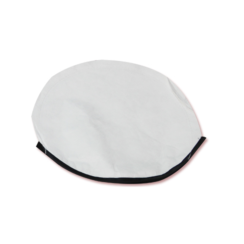 Car Sun Shade Cover - White with Black Border