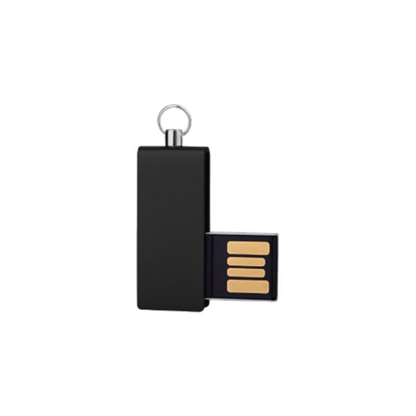 Mini USB Flash with Black swivel