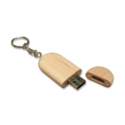 Wooden Key Holder USB Flash Drives 8GB