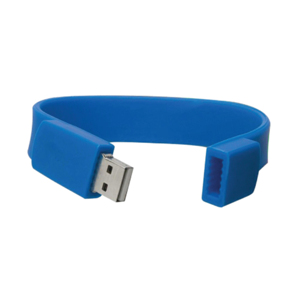 Wristbands USB Flash Drives Blue