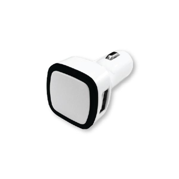 USB Car Charger Black