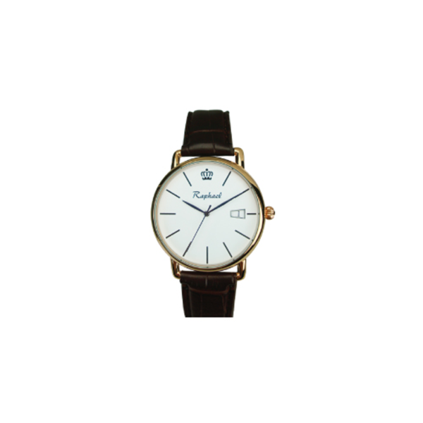 Gents Watches with Golden Color