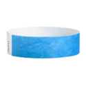 Tyvek Wristbands Neon Blue Color