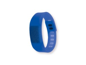 Wristband with Digital Watch Blue