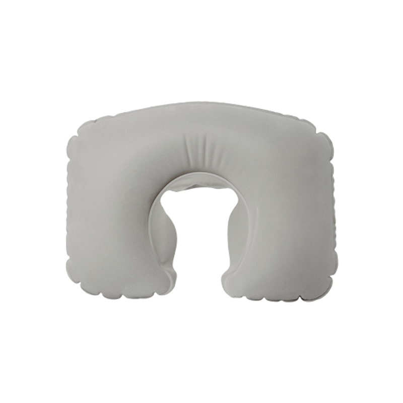 Inflatable Neck Pillow Grey Color