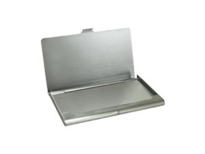 Steel Business Card Holder