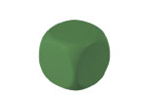 Antistress cube - Green Color