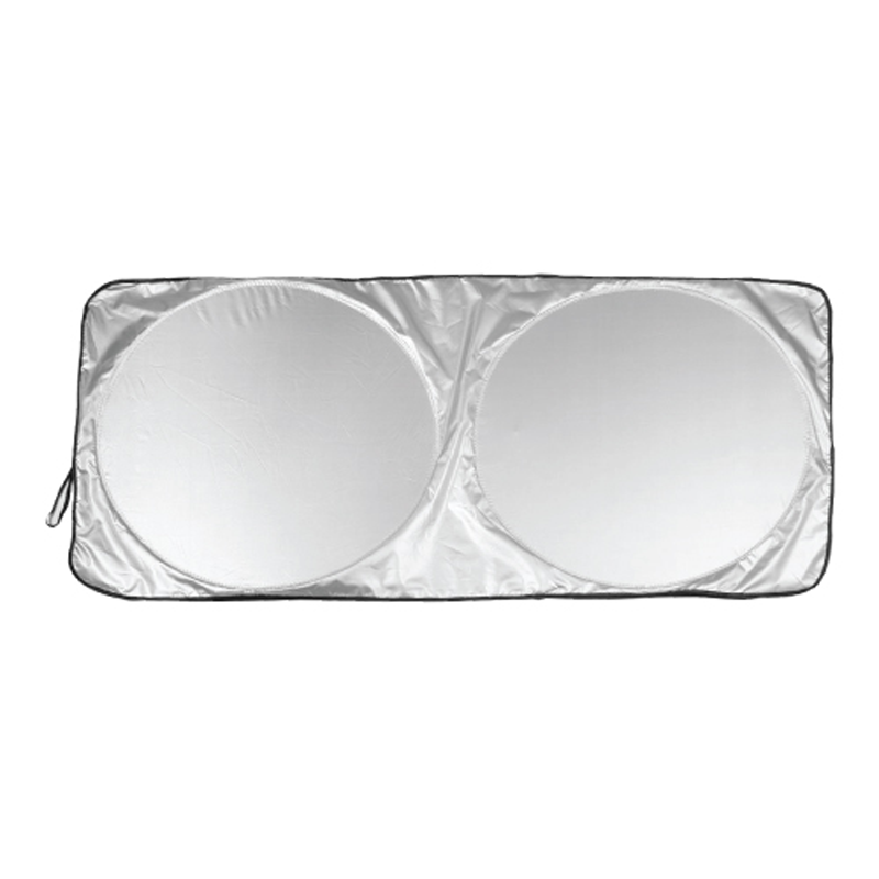 Car Sun Shades Silver Color