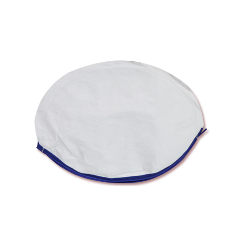 Car Sun Shade Cover - White with Blue Border