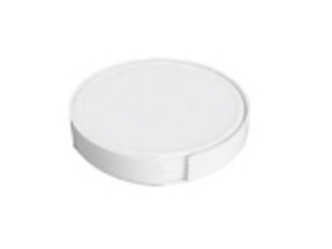 Tea Coaster White Colors