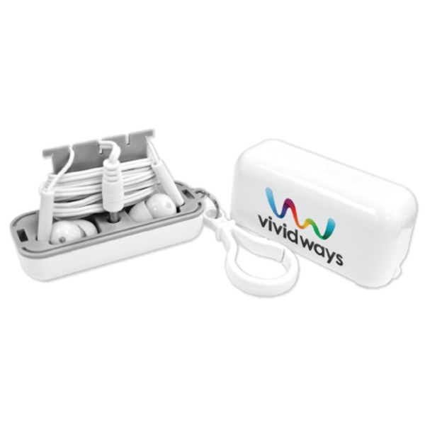 Promotional Earphones with Case