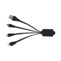 Octo-VI Cable Connectors – Black