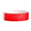 Tyvek Wristbands Red Color
