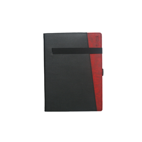B5 Notebook, Hard Bound Double Colour Black and Red Color, 192 Pages