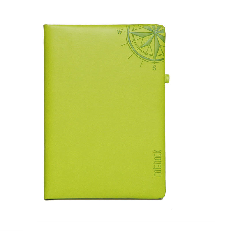A5 Notebook, Professional Foam Green, 192 Pages