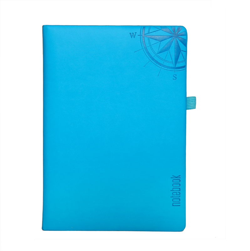 A5 Notebook, Professional Foam Cyan, 192 Pages