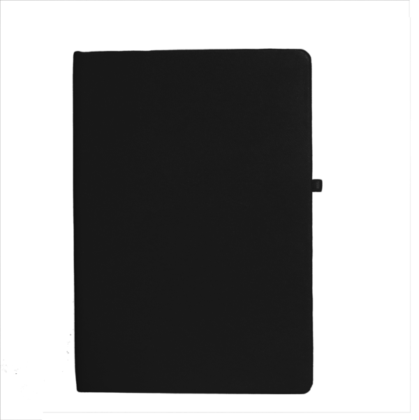 A5 Notebook, Professional Notebook Black, 192 Pages