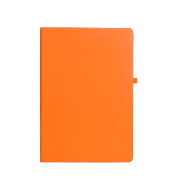 A5 Notebook, Professional Notebook Orange, 192 Pages