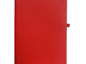 A5 Notebook, Professional Notebook Red, 192 Pages