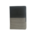 A6 Notebook, Hard Bound Double Colour Grey and Black Color, 160 Pages