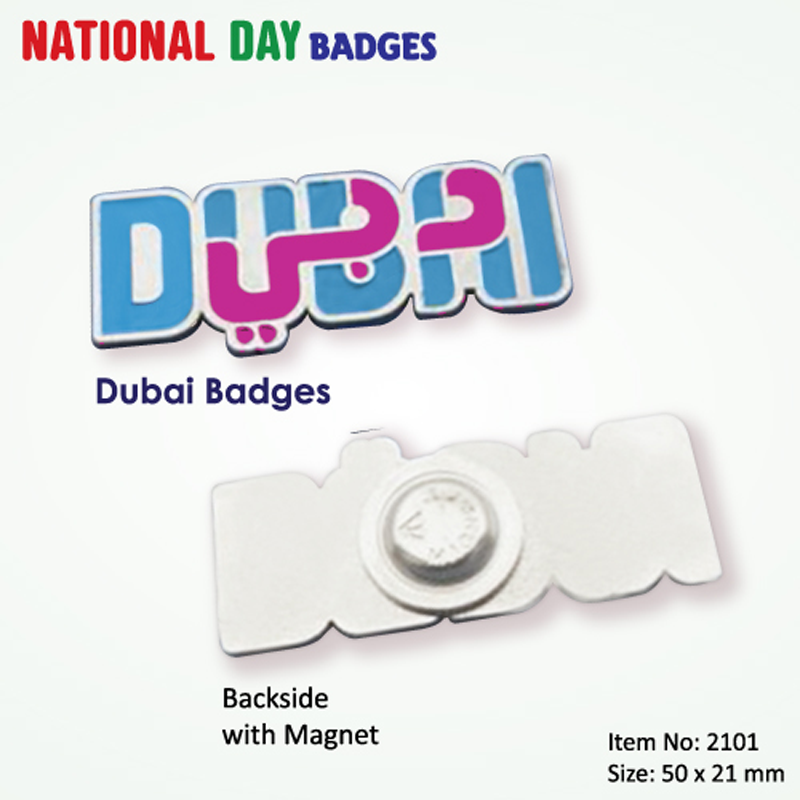 Dubai Badges 2101