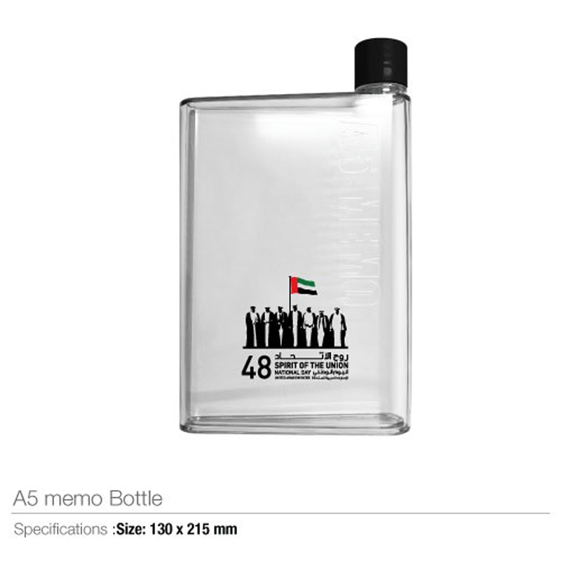 National Day A5 Memo Water Bottles