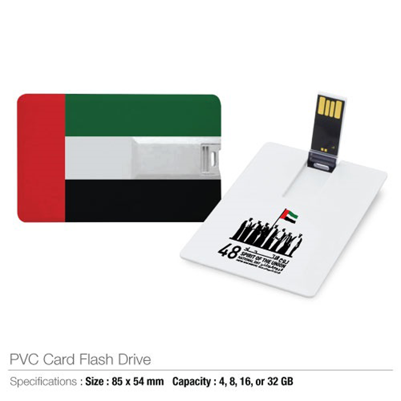 National Day Card Shape USB
