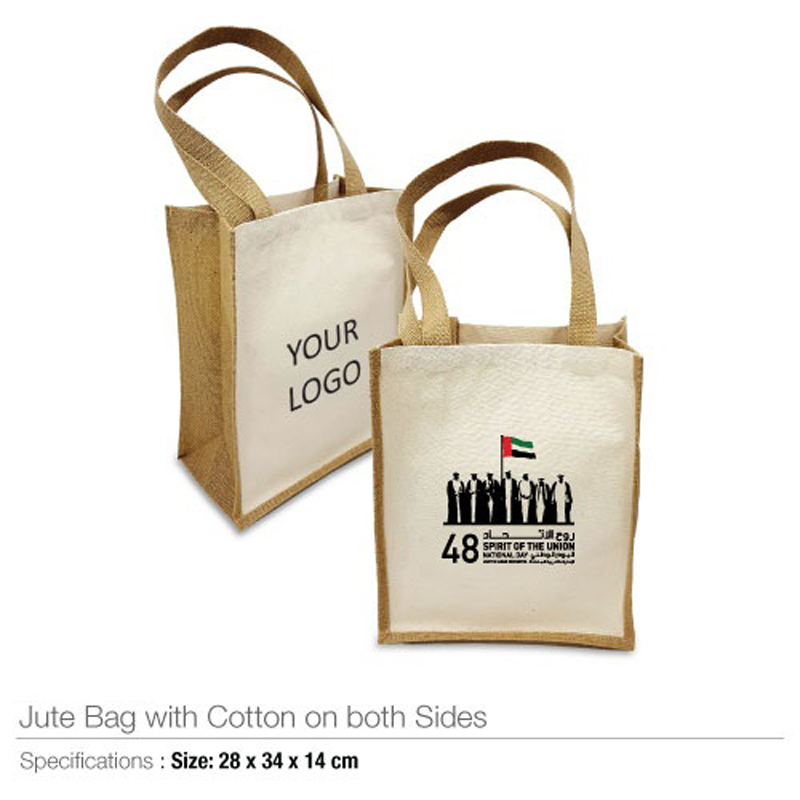 National Day Logo Bags with Both Size Cotton