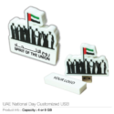 National Day Logo Customised USB Flash