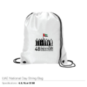 National Day Logo String Bags