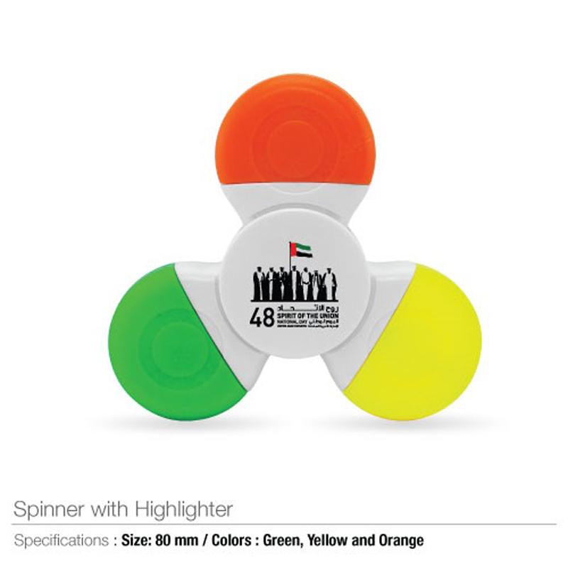 National Day Spinner Highlighter