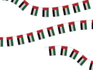 UAE 32pcs String Flag