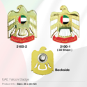 UAE Falcon Badges with Magnet