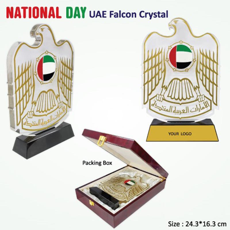 UAE Falcon Crystal