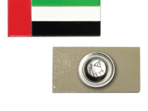 UAE Flag Badges in Metal with Magnet