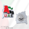 UAE Flag Badges with Magnet
