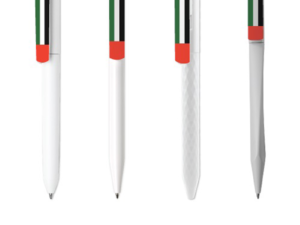 UAE Flag Pens White