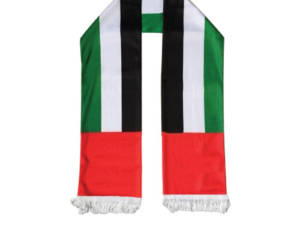 UAE Flag Satin Scarf