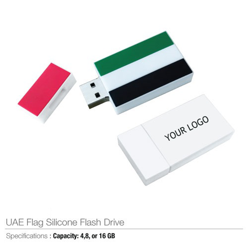 UAE Flag Silicone USB Flash