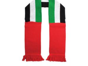 UAE Flag Woven Scarf