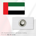 UAE National Day Badges Rectangle