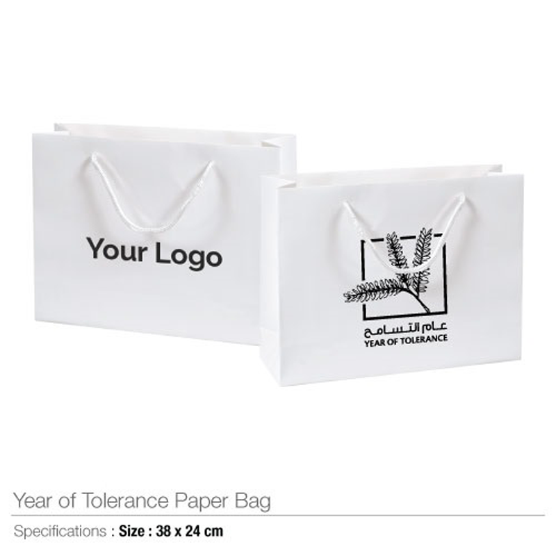 Year of Tolerance Paper Bags