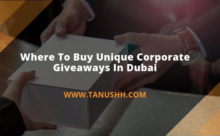 Unique Corporate Giveaways