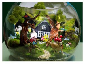 Customized Miniature Gift TCGB030