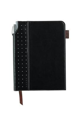 Black Medium Signature Journal with Pen