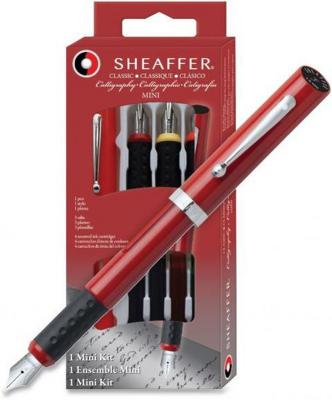 Sheaffer - Calligraphy Mini Kit single Fountain Pen with 3 nibs - F/M/B Stub Nib